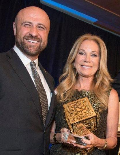 Robert and Kathie Lee Gifford
