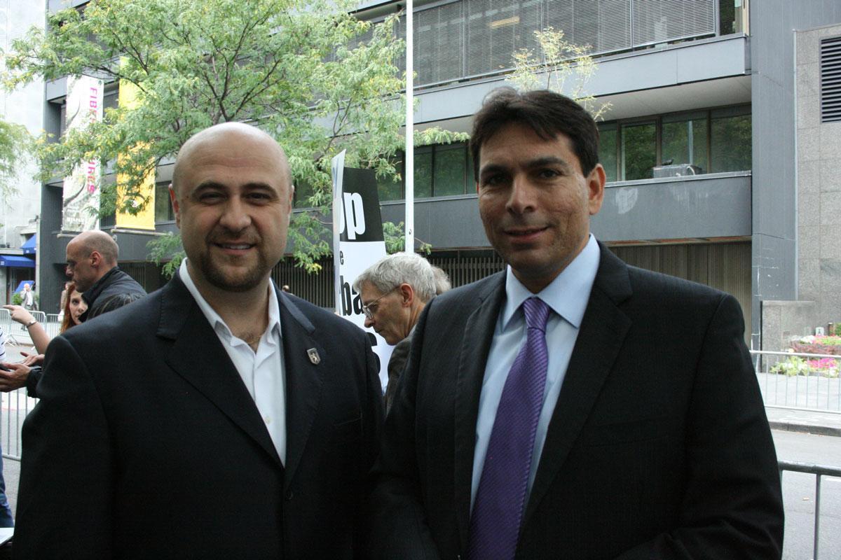 Robert and Ambassador of Israel, Danny Dannon