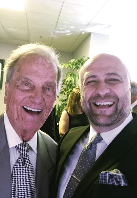 Bishop Robert Stearns with Pat Boone