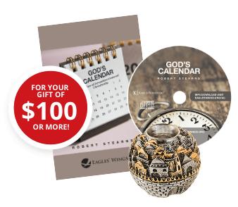 The Gods Calendar MP3 teaching & Booklet, City of Jerusalem Candle Holder